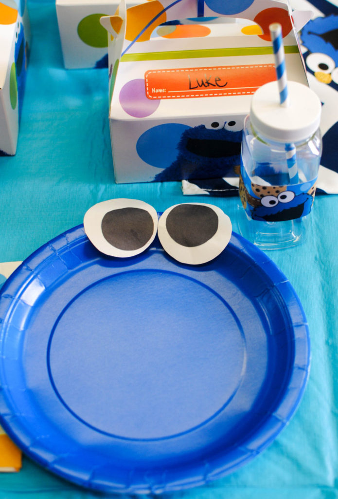 Cookie Moster Plate_