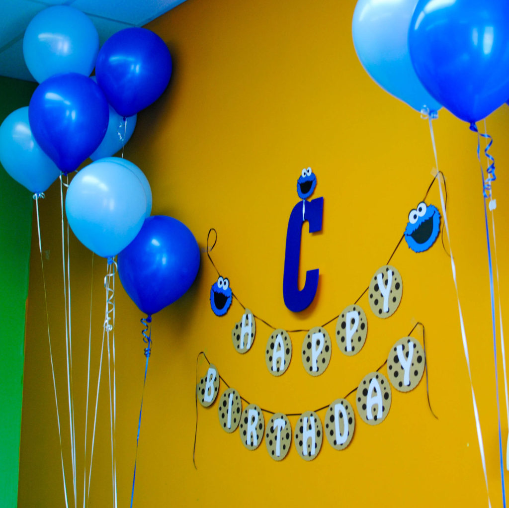 baloon and banner_