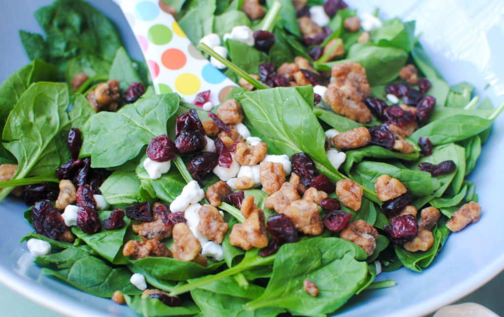 Salad without grapes_